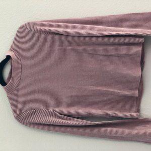 Willow & Root Open Tie-Back Sweater Top